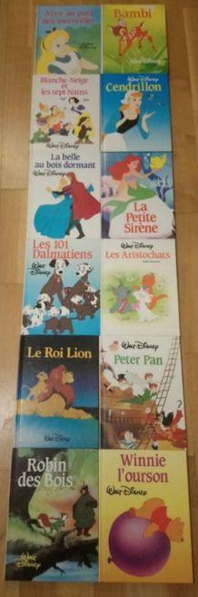 Collection de 12 livres Disney