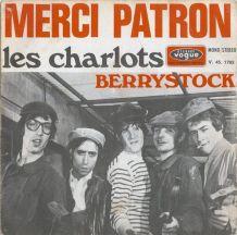 LES CHARLOTS vinyles 45T (SP 2 titres)