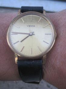 ancienne montre automatic yema