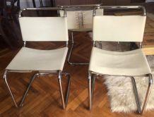 Rare chaises b33 Breuer édition Gavina