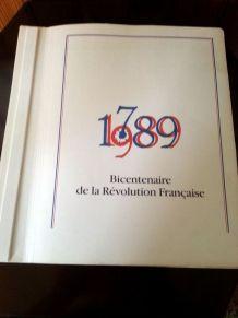 livre bi centenaire de la Révolution  Française 1789-1989