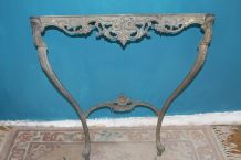 CONSOLE MURALE LAITON STYLE LOUIS XV