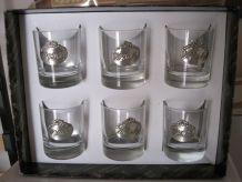 6 verres whisky
