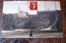 CARTE POSTALE ANCIENNE  30 - ALES /30 - ALAIS  Escalier