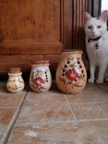 Pots vintage aromates