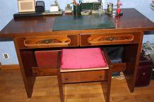 Chambre  (lit, chevet,bureau,armoire,bibliothèque)