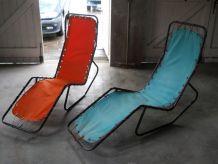 2 chaises longues BARWA