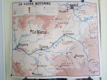 cartes géographiques scolaires Rossignol des années 50