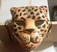 Masque décoratif chat