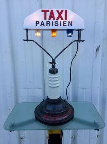 Lampe Taxi Parisien H64cm rétro vintage