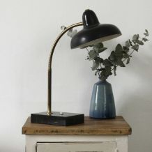 Lampe vintage marbre