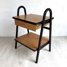Table de chevet vintage 70's