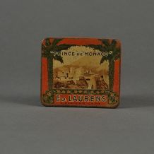 Boite ancienne cigarettes Prince de Monaco - Ed Laurens