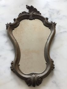 Miroir baroque en bois vintage