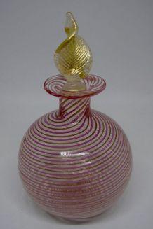 Vase verre de murano comme neuf