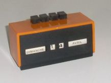 Calendrier Perpétuel Dateur Vintage John Orange Bureau
