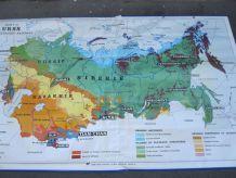 Carte scolaire n°53 et 53 bis URSS