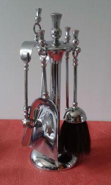 Serviteur de cheminée anglais vintage