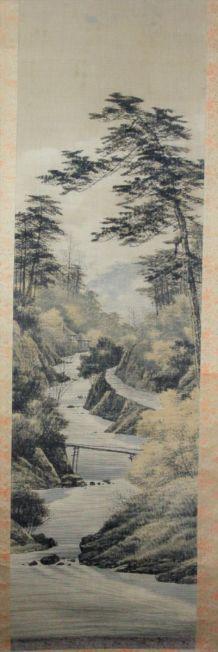 Kakémono Japonais XIXe