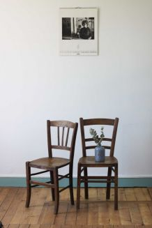 Paire de chaises Luterma