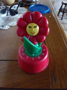 Minuteur fleur