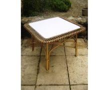 petite table rotin soleil