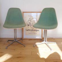 Paire de chaises Eames Original