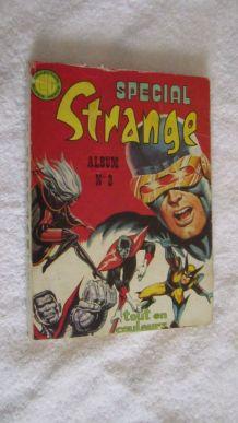 Spécial Strange ALBUM N° 2 (du n°4 au n°6) - 1976