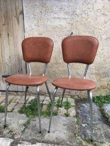 Chaises vinyle
