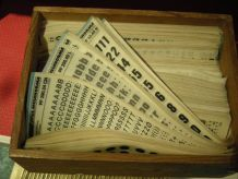 lettres transferts mécanorma x 10 paquets