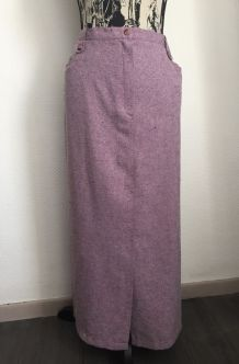 """Jupe longue vintage marque """"Vetissimo"""" Taille 46/48"""