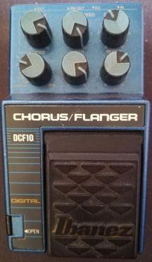 Pédale guitare Ibanez DCF10 Digital Chorus/Flanger VINTAGE