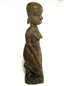 statuette Sculpture africaine en bois