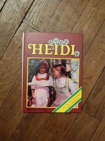 Heidi- Tome n°4- La maison de Clara- Télé Guide- Eurodif