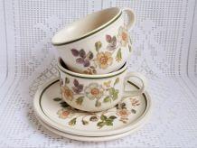 Tasses à thé céramique anglaises, tasses à café anglaises.