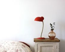 Lampe rouge 60's
