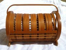 sous-verres papillons en bambou, vintage