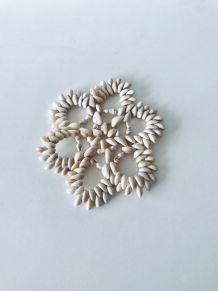 Dessous de plat en coquillage, décoration coquillages