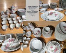 Service de table et café porcelaine limoges et couverts