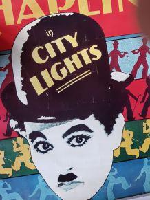 affiche Charlie Chaplin 70X50