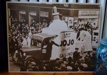 Publicité carton CASINO vintage
