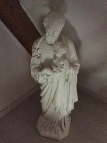 Statue en plâtre