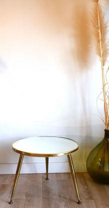 Petite table miroir vintage