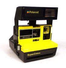 Polaroid supercolor jaune