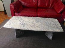 Table basse en marbre 60's /70's