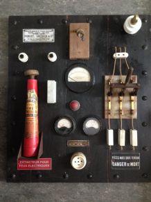 Tableau électrique vintage deco industrielle