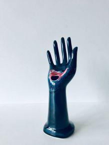 Main en céramique, porte bijoux, Vallauris France