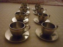 Service AVANTI de 8 Tasses à café expresso