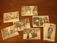Lot de 70 cartes postales anciennes repro