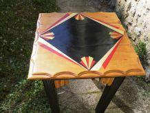petite table ART DÉCO relookée